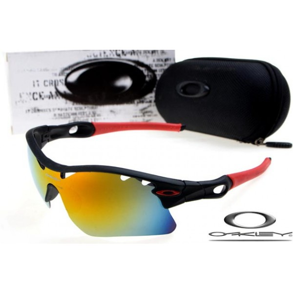 FAKE Oakley Radar Path Photochromic sunglasses Black Frame Yellow Vented  Lens OAKLEY201567150
