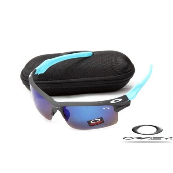 27186d33ea7 Cheap Oakley Fast Jacket Sunglasses Reluster Black Frame Dark purple Lens For  Sale