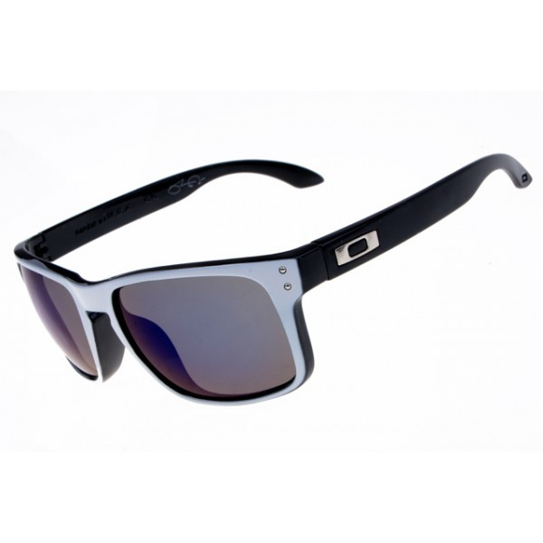 Oakley Black Frame White Violet Cheap Knockoff Holbrook Sunglasses ywNv0Om8Pn