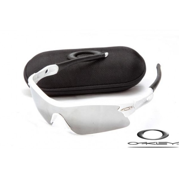 40348b632e Cheap Knockoff Oakleys Radar Path Sunglasses White Frame Ashen Lens For Sale