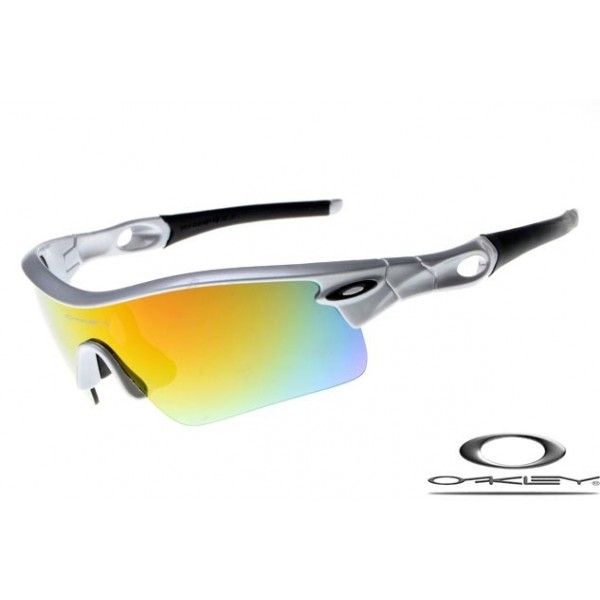 9e503388b220 Knockoff Oakleys Radar Path Sunglasses Gray Frame Fire Lens For Sale
