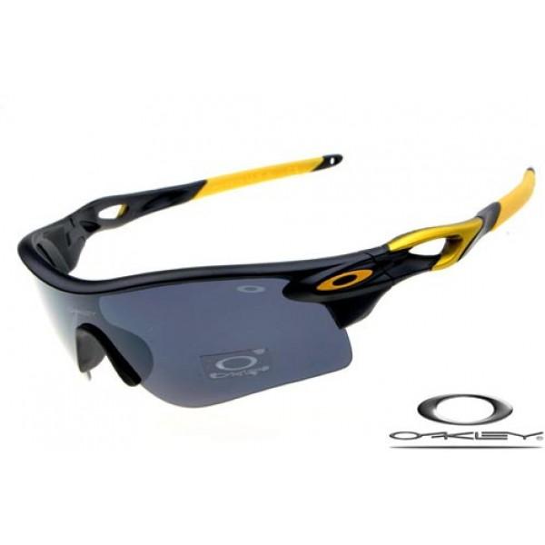 Fake Black Yellow Gray Frame Sunglasses Cheap Oakley Radarlock rhotsBQdCx