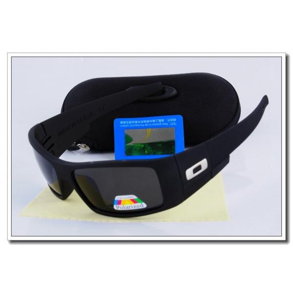 ef66a2e553f Cheap Fake Oakley Oil Rig Polarized Sunglasses Black Frame Slate grey  Iridium Lens Sale