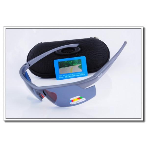 Cheap Fake Oakley m frame Polarized Sunglasses Blue Frame Blue ...