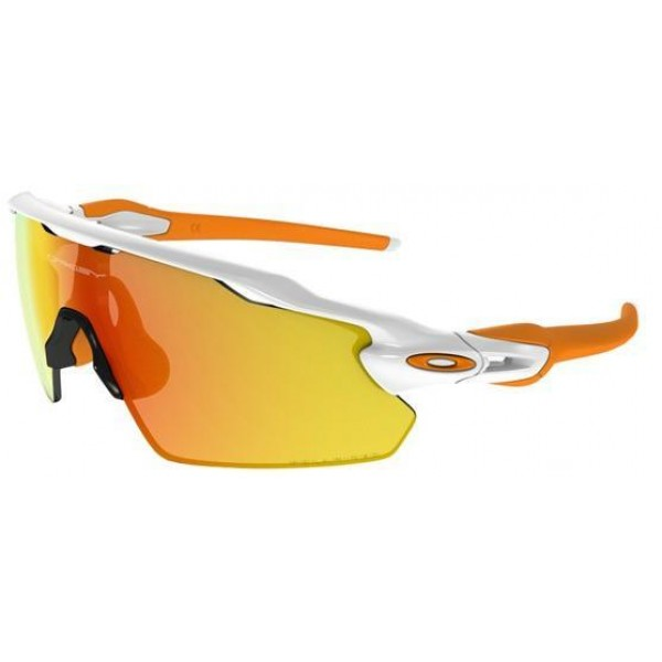 a4cdb36e342 Cheap Fake Oakley Sunglasses Radar EV Pitch Prizm White Yellow Frame ...
