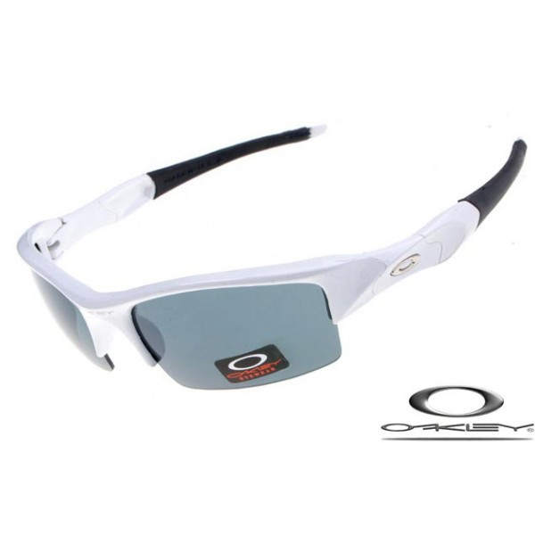 18edf164b24 Knockoff Oakley Flak Jacket Sunglasses Polishing White   Green Lake ...