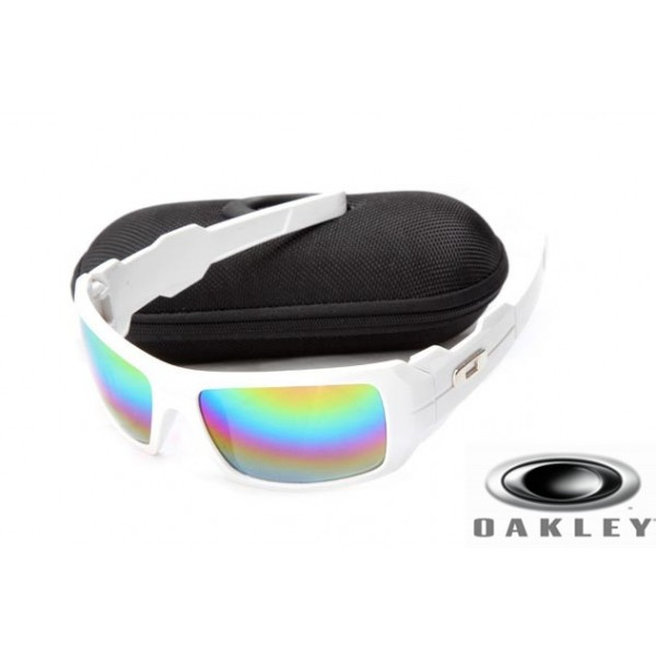 8cfe8cf2c4f FOakleys Oil Drum Sunglasses White Frame Camo Lens OAKLEY201567347