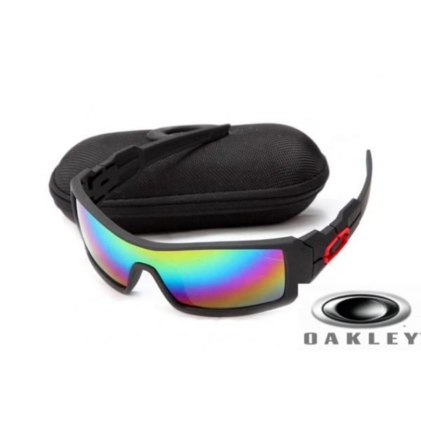 7f608582d1 ... coupon for wholesale oakley oil rig sunglasses matte black frame camo  lens edc29 8ac9d