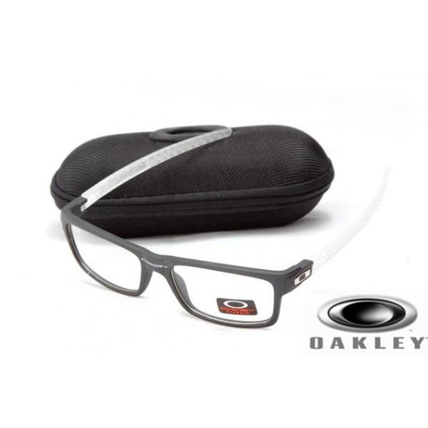 f1e1647695 fake oakley currency sunglasses Black crystal Frame Clear Lens  OAKLEY201567309
