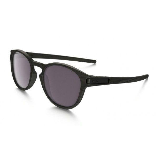 Oakley Sonnenbrille Latch Woodgrain/Prizm Black Polarized nQODeOsL