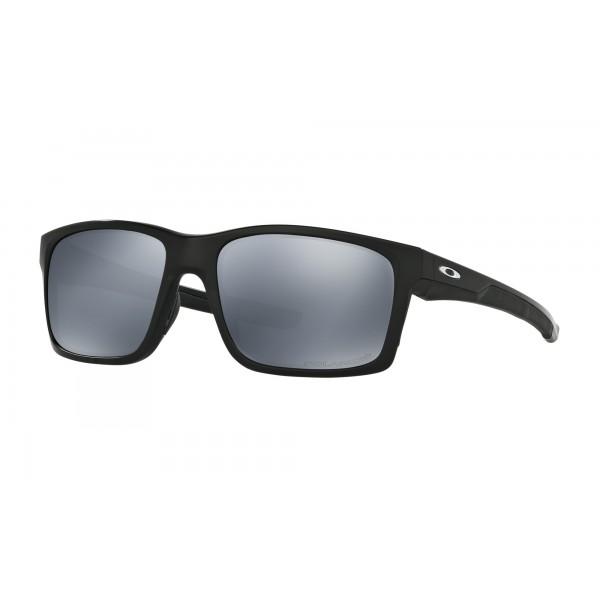8e37877aaf Fake Oakley MAINLINK Sunglasses POLARIZED Matte Black Frame BLACK ...