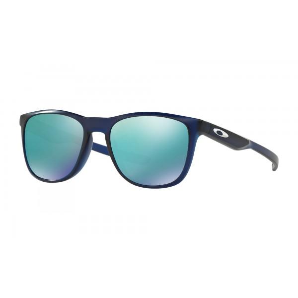 c1b5e1fba6 Cheap Fake Oakley TRILLBE X Sunglasses Blue Frame Jade Iridium Lens