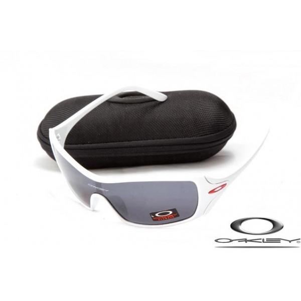 61a5c5ab8d5 Cheap FOakleys Dart Women Sunglasses White Frame Gray Iridium Lens ...