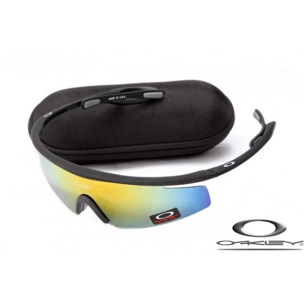 Cheap Knockoff Oakley M Frame Sunglasses Frosting Black Frame Yellow ...