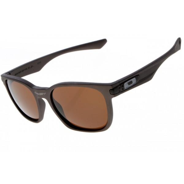 9fbe0e30bfa Cheap Oakley Garage Rock Sunglasses Round Matte Brown Frame Brown ...