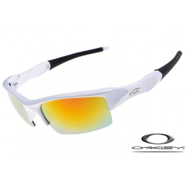 ae191feb43 Cheap Replica Oakley Flak Jacket Sunglasses Polishing White Frame ...