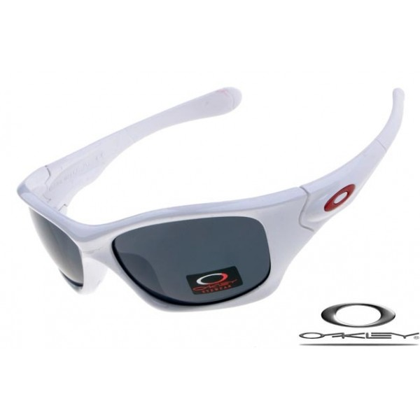 bc068e2960ae Cheap Replica Oakley Pit Bull Sunglasses Polishing White Frame Gray ...