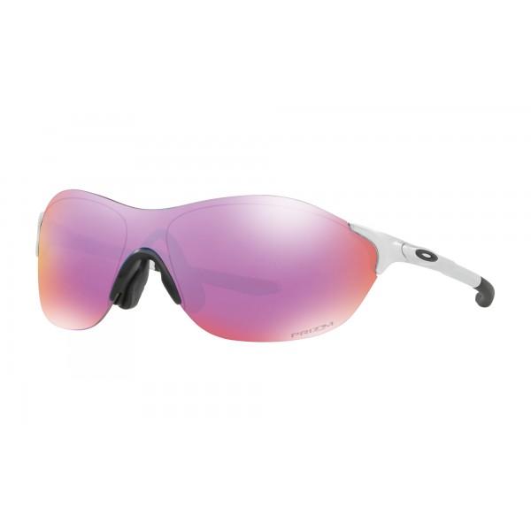 d3963fbf62 Replica Oakley Sunglasses EVZERO SWIFT ASIA FIT Silver Frame Prizm ...