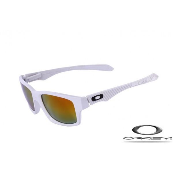 Wholesale Fake Oakley Jupiter Carbon Sunglasses White Frame Fire ...