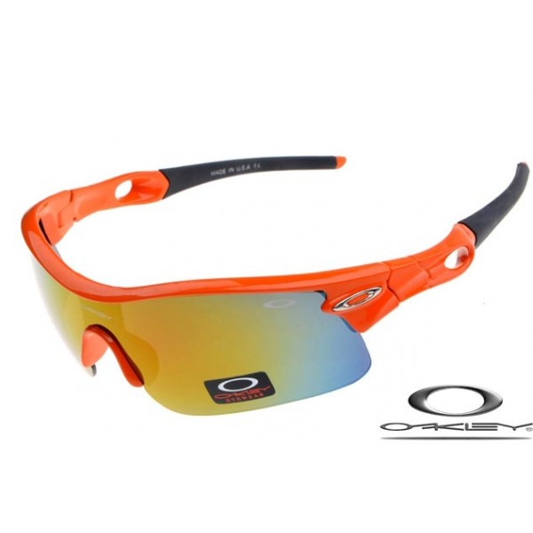 Wholesale Fake Oakley Radar Pitch Sunglasses Polishing Orange Frame ...