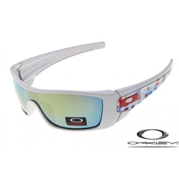Wholesale Imitation Oakley Fuel Cell Sunglasses White Frame Ice Blue ...