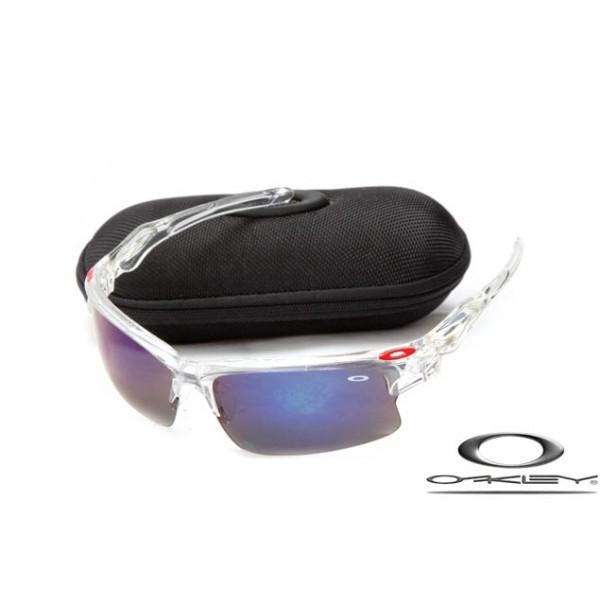 a590953a39d Wholesale Cheap Oakley Fast Jacket Sunglasses Crystal Frame Dark ...