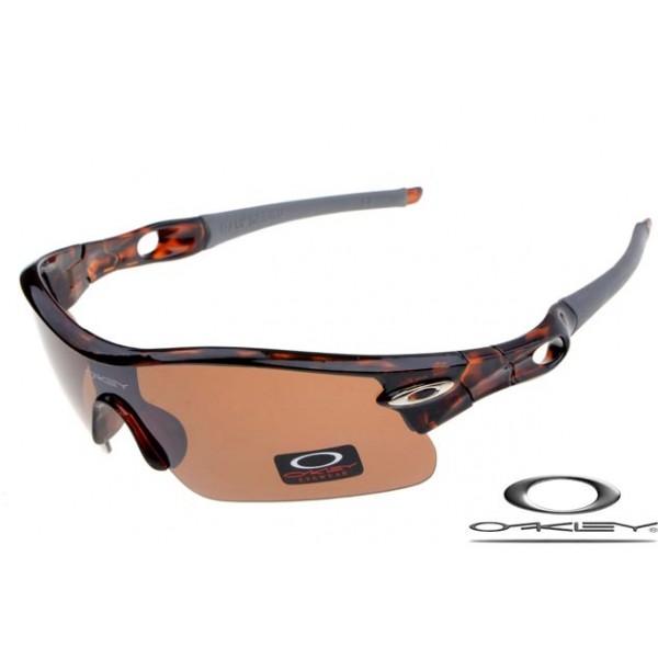 1a9dcd13d397 Wholesale Replica Oakley Radar Pitch Sunglasses Brown Black Frame ...