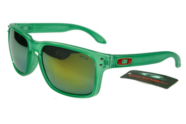Cheap Sunglasses Oakley Green Replica Yellow Crystal Frame Holbrook cl1JKF