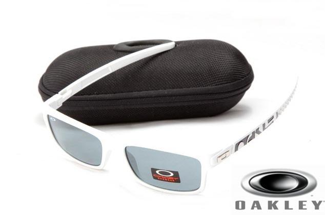 e97d84952b1ee Imitation oakley currency sunglasses White Frame Gray Lens OAKLEY201567328