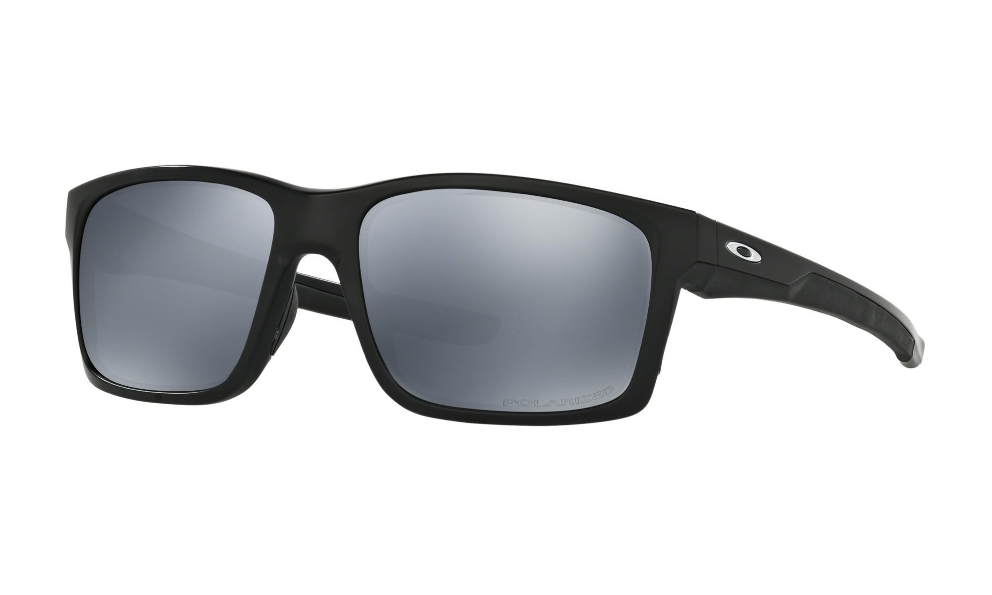 3a8abefa09 Fake Oakley MAINLINK Sunglasses POLARIZED Matte Black Frame BLACK IRIDIUM  Lens UK
