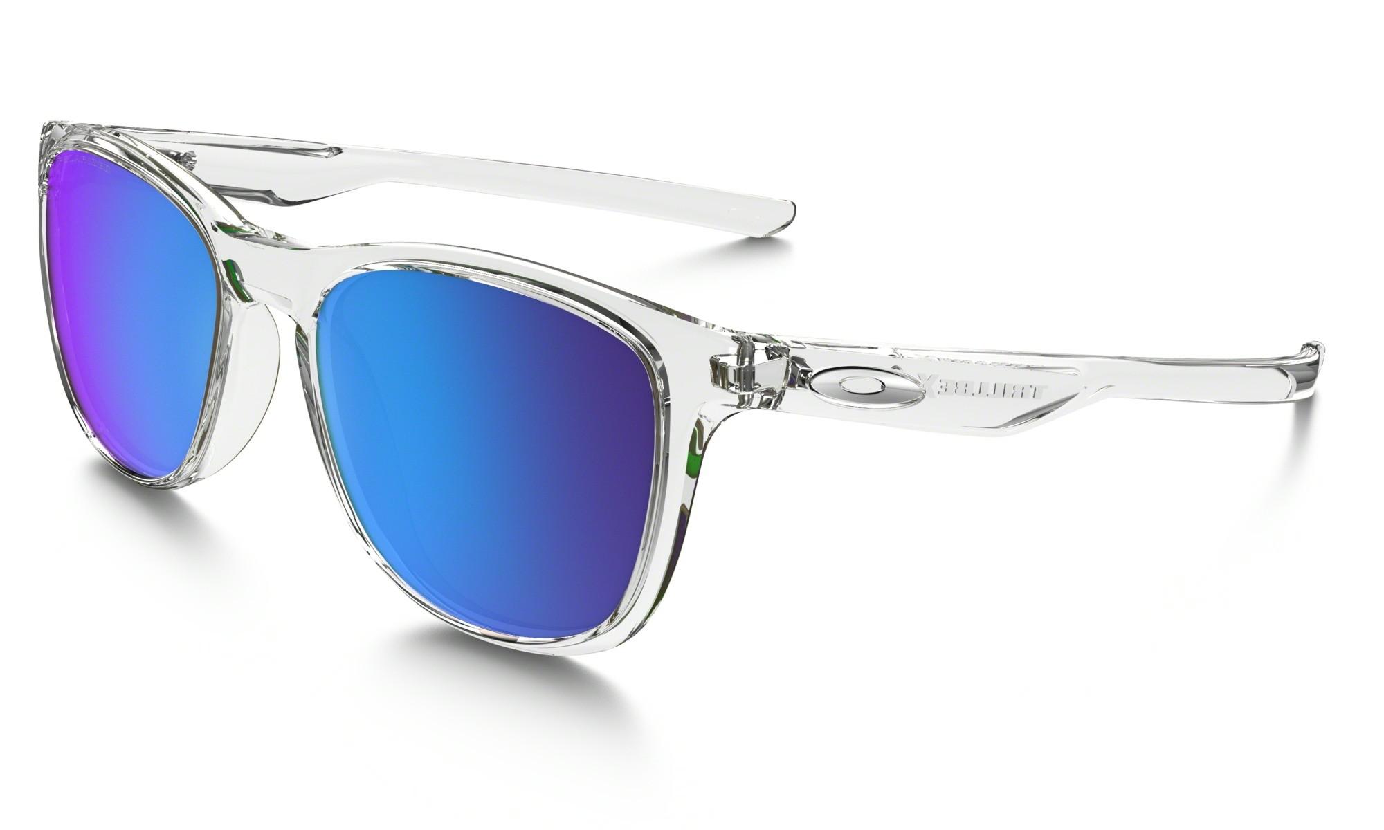 Canada Fake Oakley TRILLBE X Sunglasses Polished Clear Frame ...
