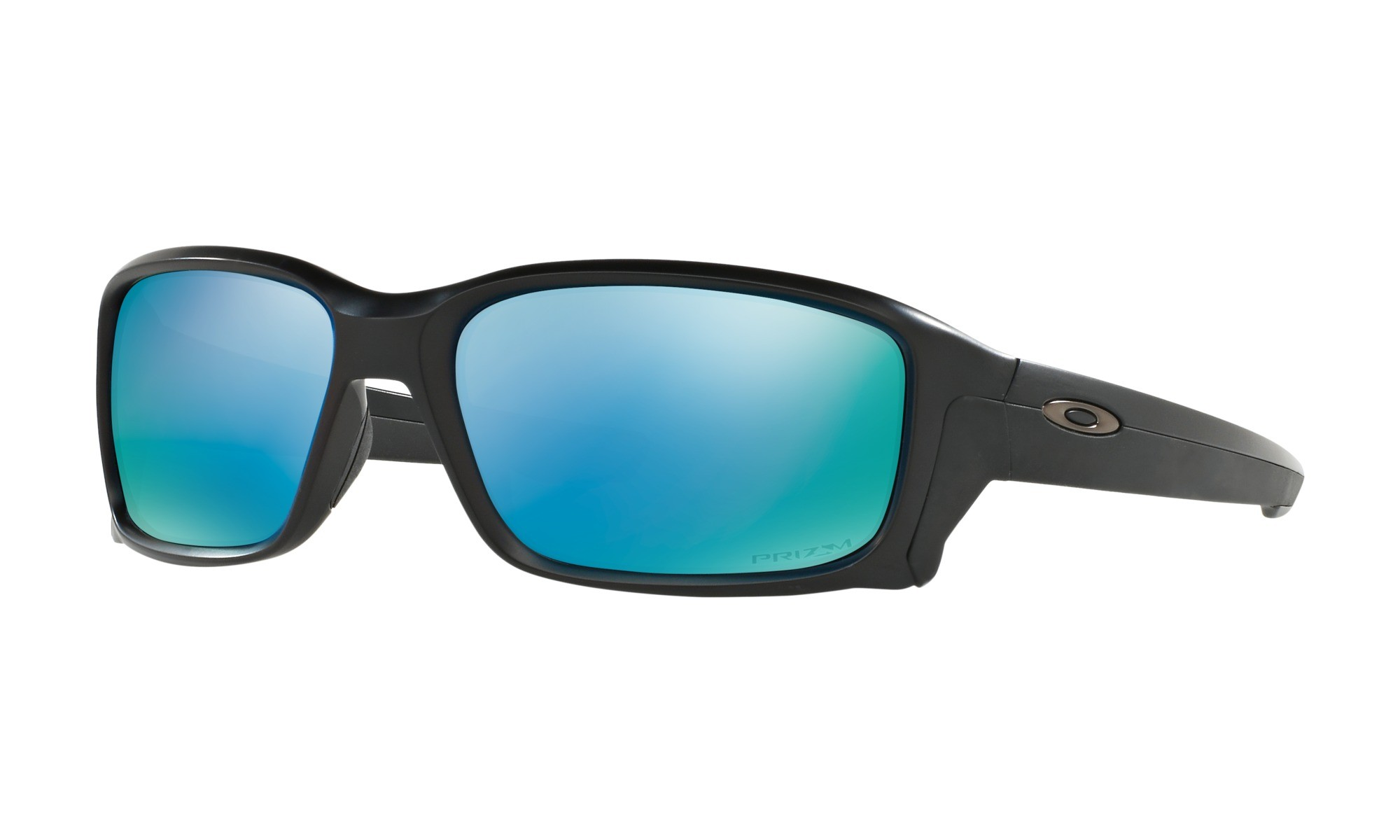 366b796ad3 Knockoff Oakleys Straightlink PRIZM POLARIZED Matte Black Frame DEEP WATER  Lens