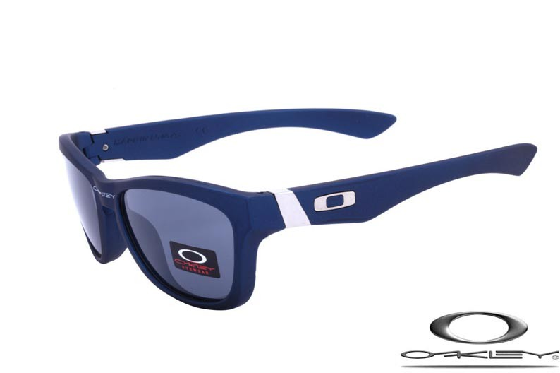 f50e4c435317 Wholesale Fake Oakley Jupiter Sunglasses Blue Frame Gray Lens Free Shipping     foakleys