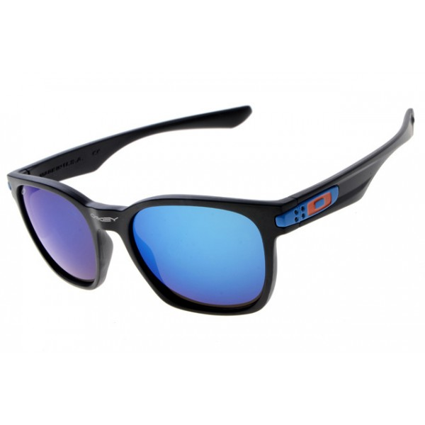 cheap oakley garage rock sunglasses round matte black frame blue rh pnbpbmn com
