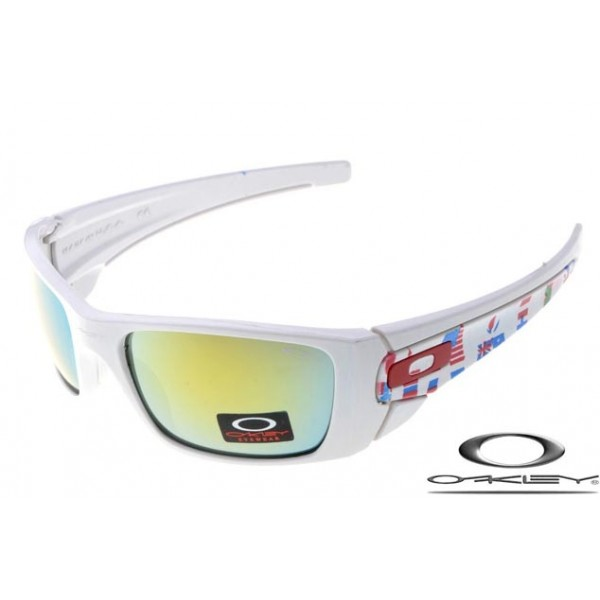 da1cf502db3 Wholesale Faux Oakley Fuel Cell Sunglasses White Frame Fire Lens For ...